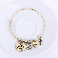 Ballet Love Charm Bangle - Florence Scovel - 7