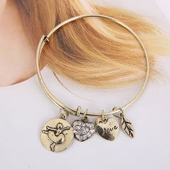 Ballet Love Charm Bangle - Florence Scovel - 4