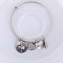 Ballet Love Charm Bangle - Florence Scovel - 5