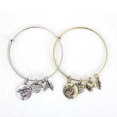 Ballet Love Charm Bangle - Florence Scovel - 3