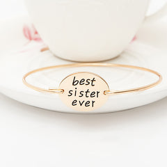 Best Sister Ever Bangle - Florence Scovel - 2