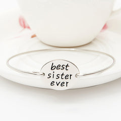 Best Sister Ever Bangle - Florence Scovel - 3