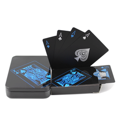 Black Novelty Playing Cards