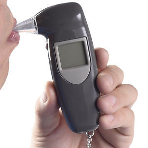 Alcohol Test Breathalyser Key Chain