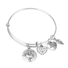 Ballet Love Charm Bangle - Florence Scovel - 2
