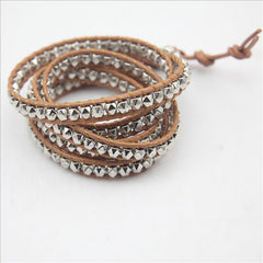 Desert Hex Sterling Wrap