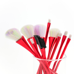 10 Piece Hour Glass Brush Set
