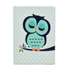 Sleeping Owl - Leather Case for Tablet