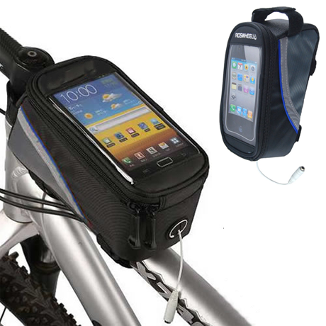 Bike Pouch with Phone Case Cover