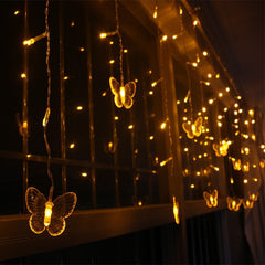 4M 40 LED Party Fairy Butterflies Lights Battery Operated LED