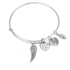 Angel Love Charm Bangle - Florence Scovel - 1