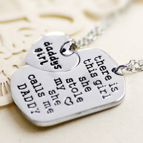 DADDY'S GIRL- Charm Pendant Set