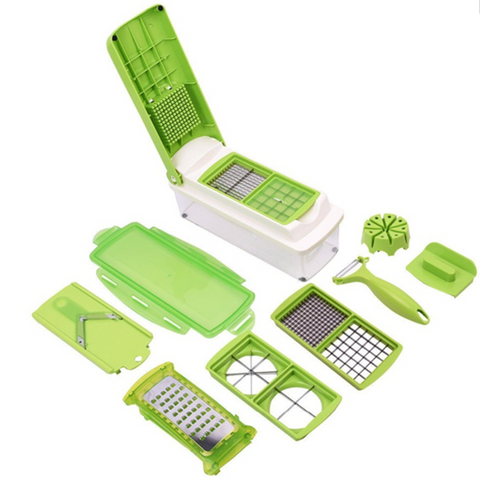 Multifunctional Vegetable And Fruit Shredder Slicer Chopper