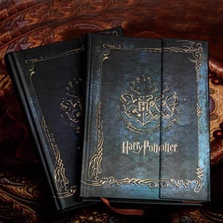 Harry Potter Vintage Hard Cover Notebook