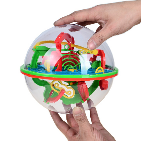 3D Brain Teaser Game Sphere Maze