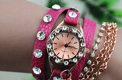 Glam Rock wrap watch 5 colours available