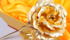 24K Gold Plated Forever Love Rose