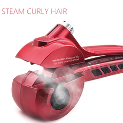 Ceramic Automatic Hair Curler with Steam