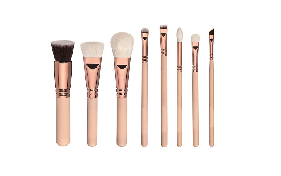 8 Piece Princess Brush Set