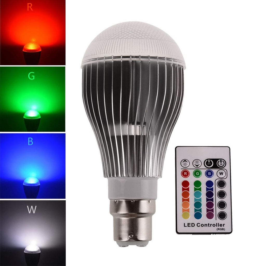 Round Colour Changing Lights Bulbs (3 Pack)
