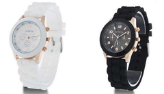 Geneva Jelly Watch - Assorted Colors