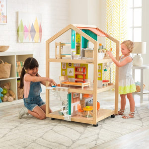 So Stylish Mansion Dollhouse with EZ Kraft Assembly™