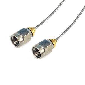 2.92mm to 2.92mm using .047' Semi-rigid Cable,DC-40GHz