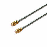 GPO(SMP) to GPO(SMP) using Flexiform 405 Semi-flexible Cable,DC-40GHz