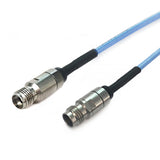 2.92mm to 2.4mm using Flexiform 405 FJ Semi-flexible Cable,DC-40GHz