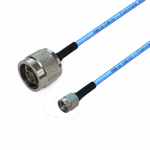 SMA to N using  Flexiform 402 FJ Semi-flexible Cable,DC-12.4GHz