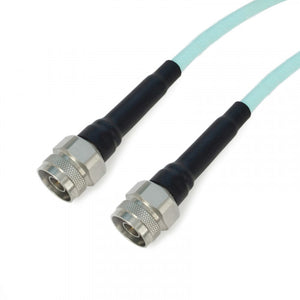 N to N using 311A(8mm) Low Loss Phase-Stable Flexible Test Cable,DC-18GHz