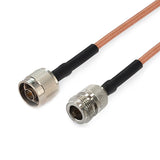 N to N using RG142 Flexible Cable,DC-6GHz