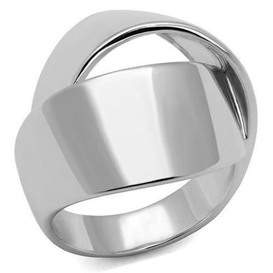 3W1311 - Rhodium Brass Ring with No Stone