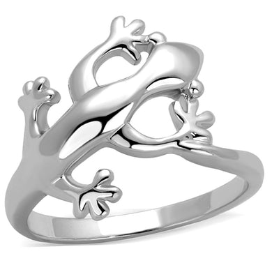 3W858 - Rhodium Brass Ring with No Stone
