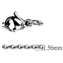 Load image into Gallery viewer, TK2422 - High polished (no plating) Stainless Steel Chain with No Stone