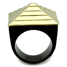 Load image into Gallery viewer, VL119 - IP Gold(Ion Plating) Stainless Steel Ring with No Stone