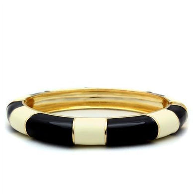 LO1959 - Gold White Metal Bangle with No Stone