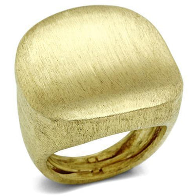 LO2473 - Gold & Brush Brass Ring with No Stone