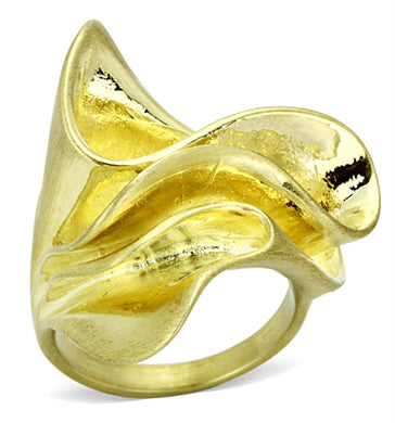 LO3005 - Gold & Brush Brass Ring with No Stone