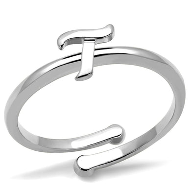 LO4017 - Rhodium Brass Ring with No Stone