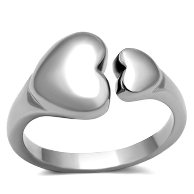 TK1000 - High polished (no plating) Stainless Steel Ring with No Stone