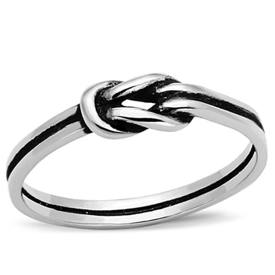 TK1239 - High polished (no plating) Stainless Steel Ring with No Stone