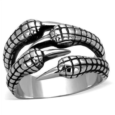 TK1881 - High polished (no plating) Stainless Steel Ring with No Stone