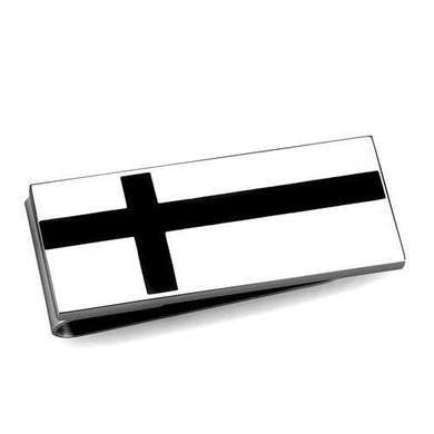 TK2090 - High polished (no plating) Stainless Steel Money clip with No Stone