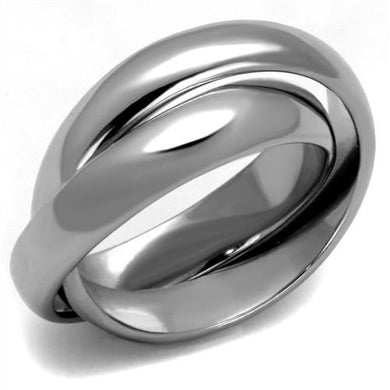 TK2498 - High polished (no plating) Stainless Steel Ring with No Stone