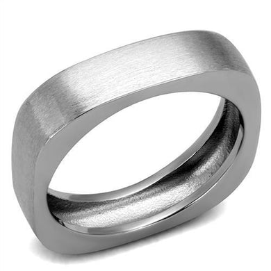 TK2668 - High polished (no plating) Stainless Steel Ring with No Stone