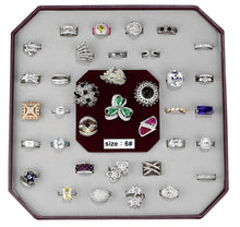 Load image into Gallery viewer, VK-004-SIZE6 - Assorted Brass Ring with Assorted  in Assorted