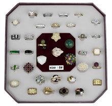 Load image into Gallery viewer, VK-006-SIZE8 - Assorted Brass Ring with Assorted  in Assorted