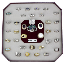 Load image into Gallery viewer, VK-016-SIZE7 - Assorted Brass Ring with Assorted  in Assorted