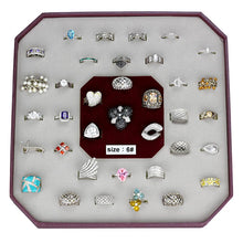 Load image into Gallery viewer, VK925-001-SIZE6 - Assorted 925 Sterling Silver Ring with Assorted  in Assorted